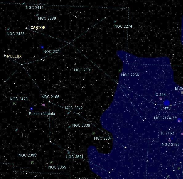 Gemini Star Map