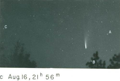 Comet Mrkos 1957d