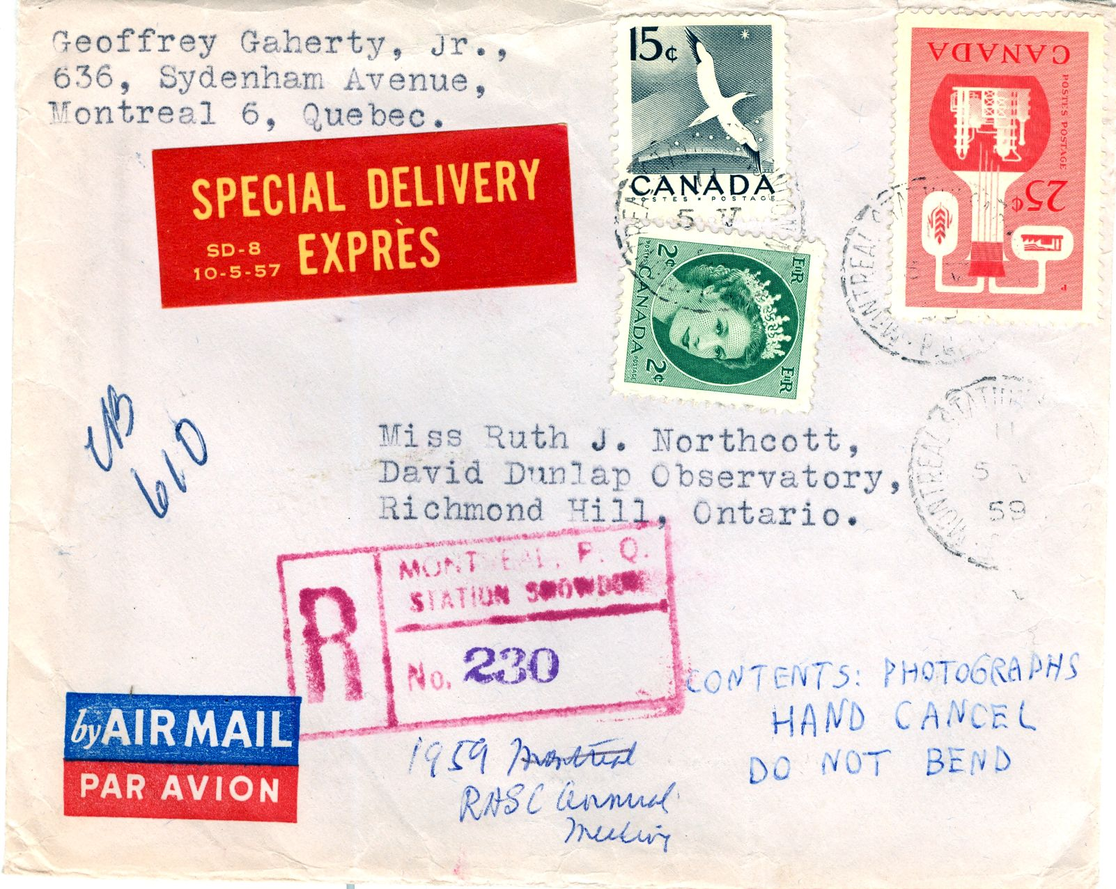 Envelope (Front)