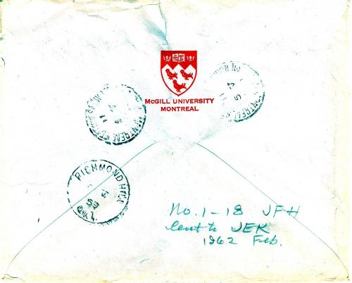 Envelope (Back)