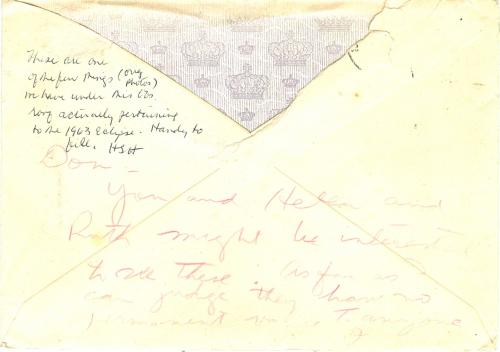 Steffensen Envelope (2)