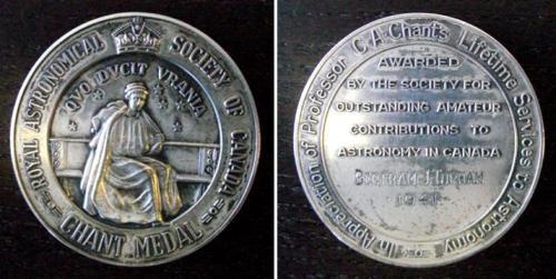 Chant Medal 1941