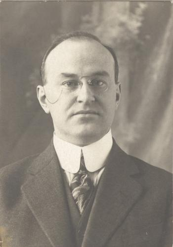 H.R. Kingston in 1917