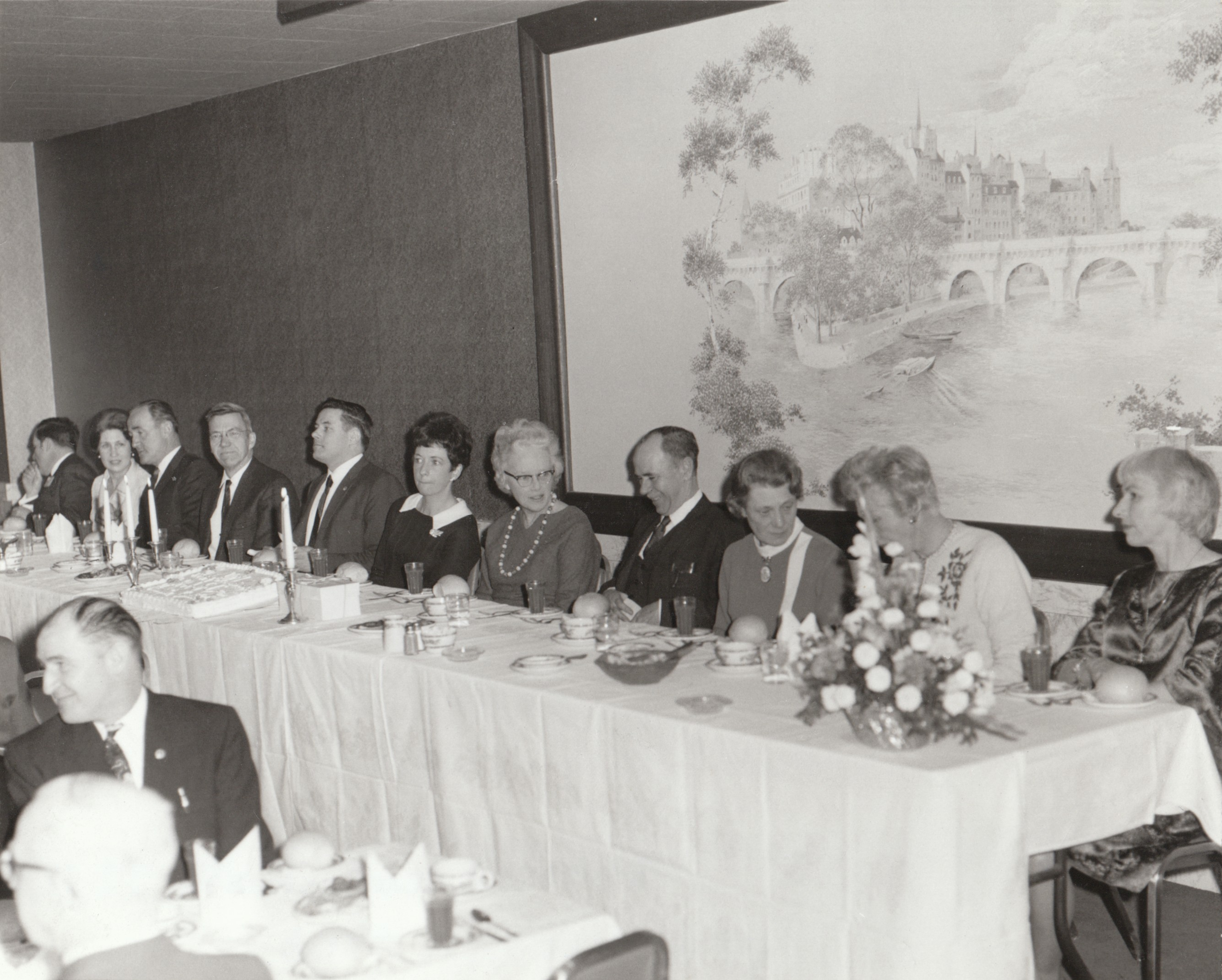 Hamilton Banquet 1969