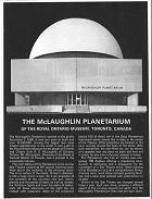 McLaughlin Planetarium 1969