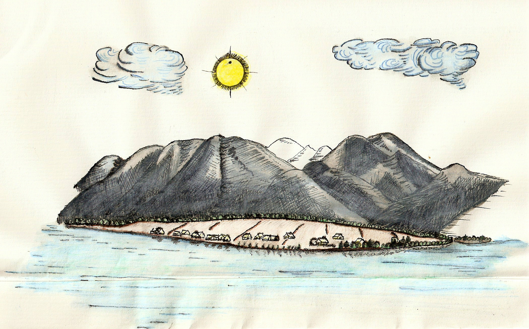 Thomas Wright's 1769 ToV observing station at Île aux Coudres, Lower Canada