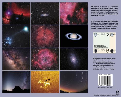 Observer's Calendar 2006 - Back