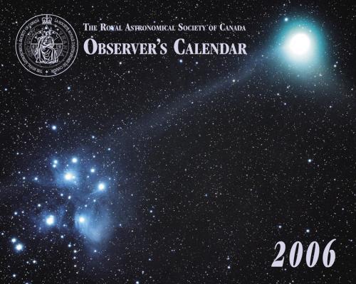 Observer's Calendar 2006 - Front
