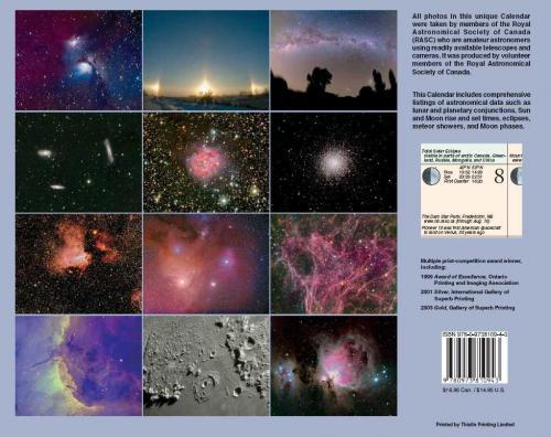 Observer's Calendar 2008 - Back