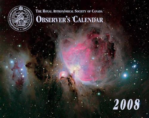 Observer's Calendar 2008 - Front