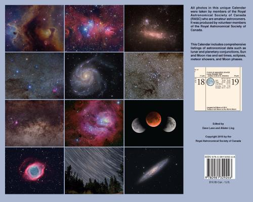 Observer's Calendar 2011 - Back
