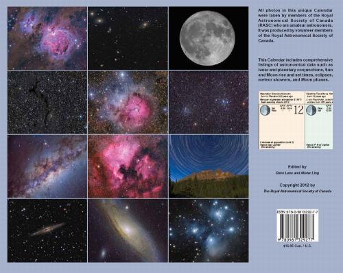 Observer's Calendar 2012 - Back