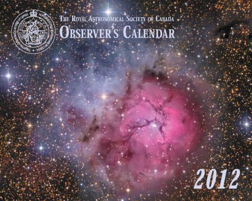 Observer's Calendar 2012 - Front