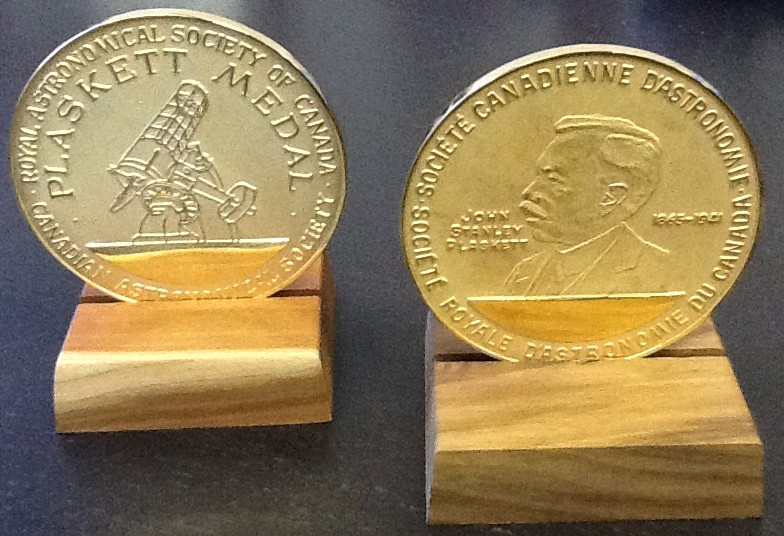 Plaskett Medals