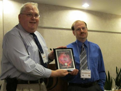 President's Award Presentation - 2010