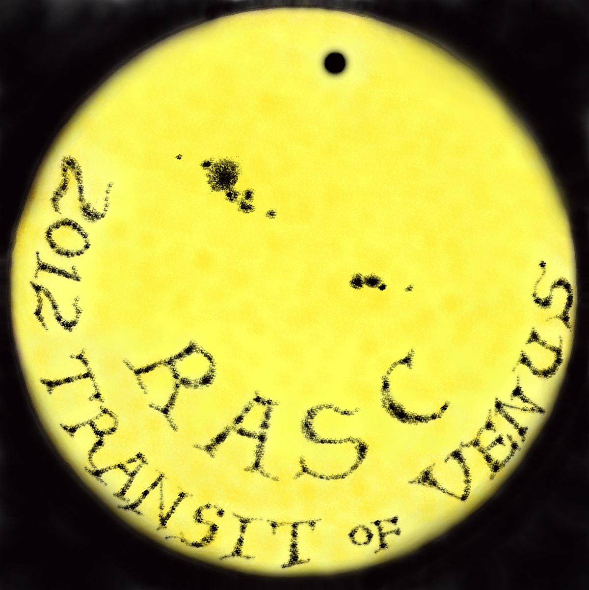 Transit of Venus 2012 Logo