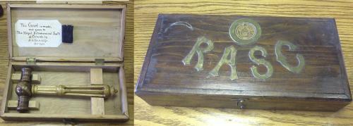 RASC Gavel 1941