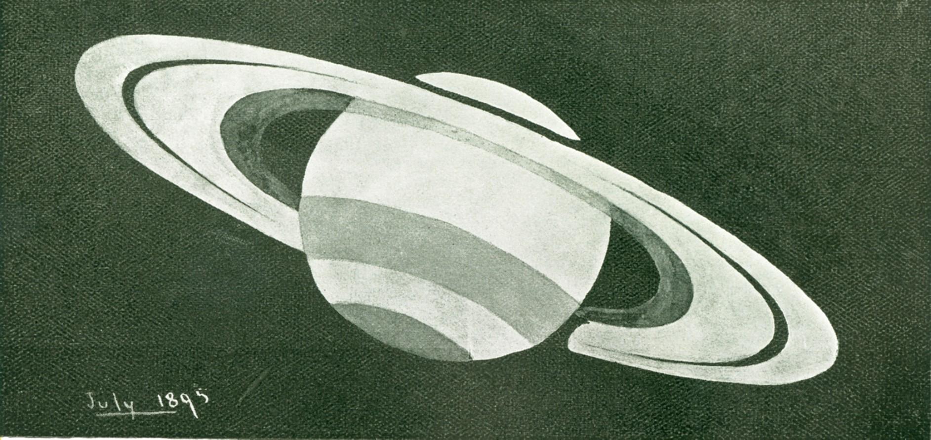 Saturn Sketch 1895