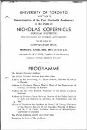 1943 Copernicus Event