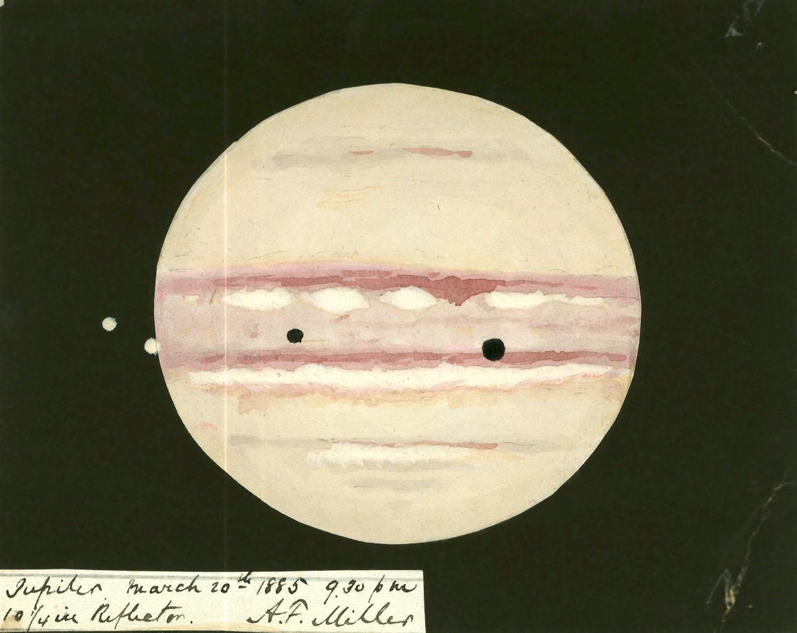 Jupiter Sketch 1885