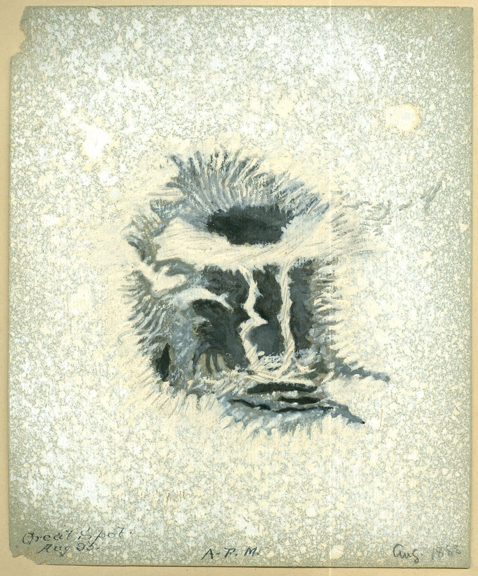 Sunspot August 1888