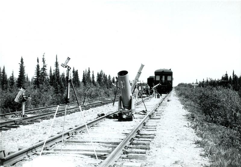 Scopes on Railroad