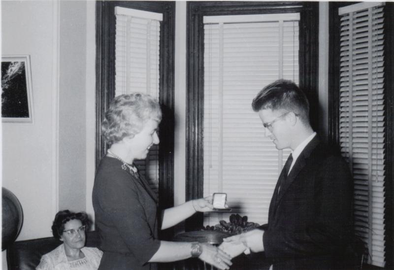 1962 Gold Medal Presentation