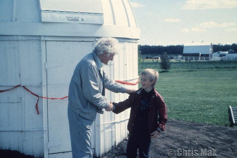 Dr. Who Visits K-W (1985)