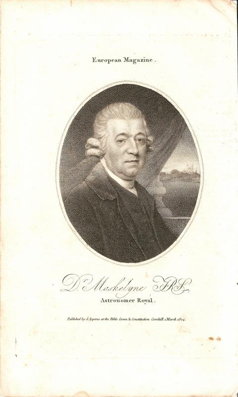 Rev'd Dr. Nevil Maskelyne