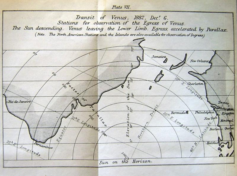 Sir G.B. Airy's 1868 map of possible ToV stations - II
