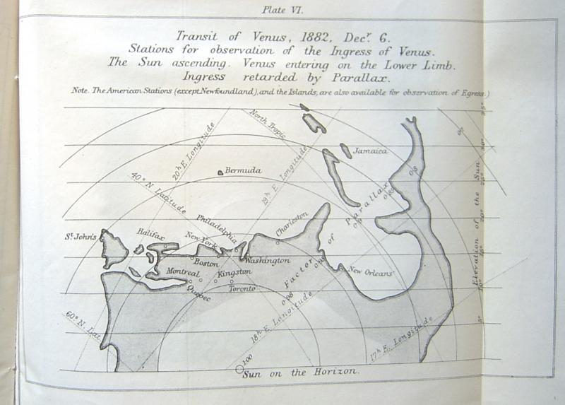 Sir G.B. Airy's 1868 map of possible ToV stations - I