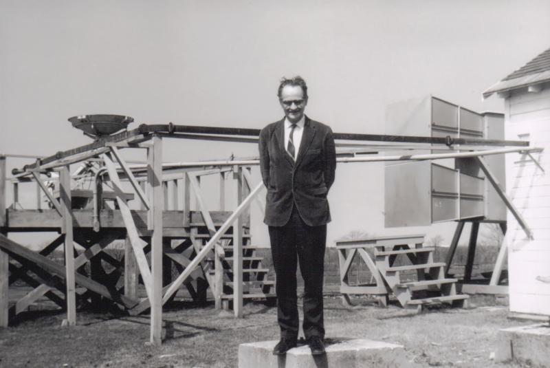 Art Covington at Goth Hill Observatory