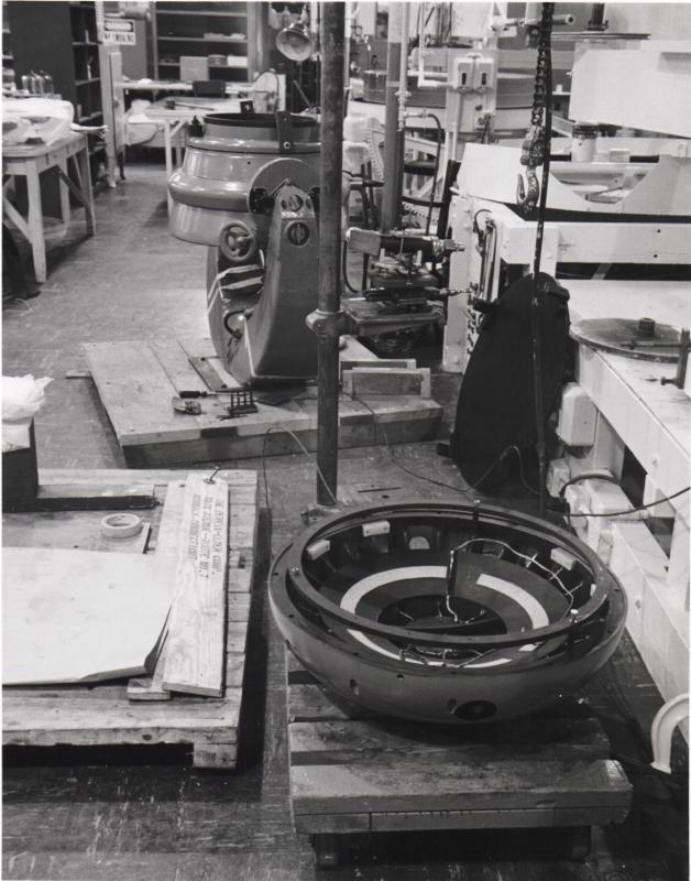 Baker-Schmidt camera at the factory