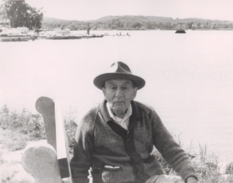 Edwin Bridgen in 1982