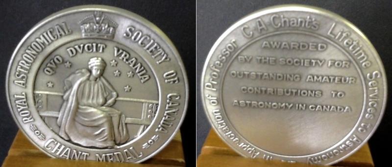 Chant Medal