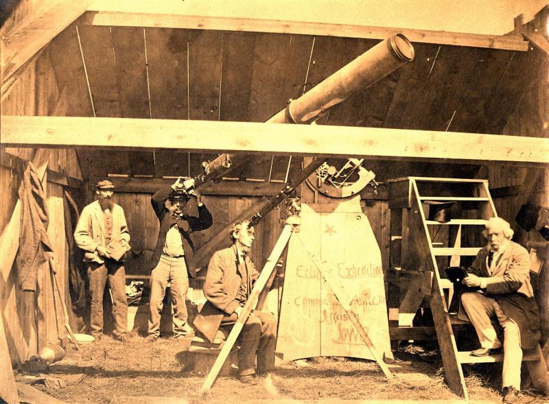 1869 Eclipse Observatory