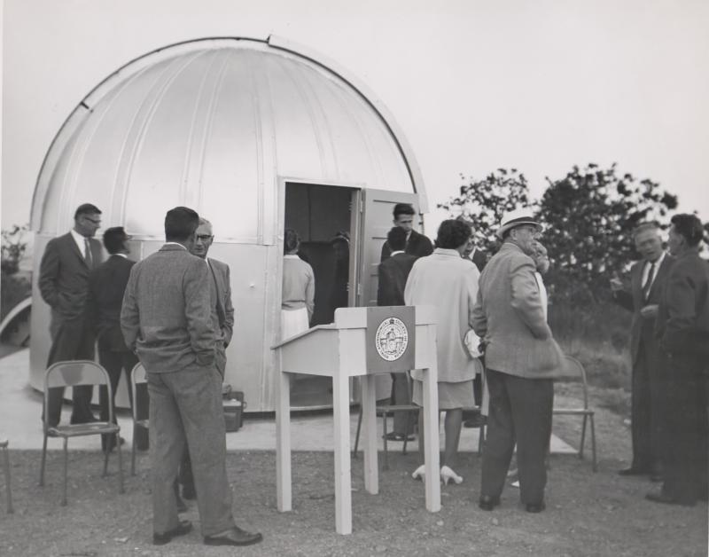 At the Evans Telescope Presentation