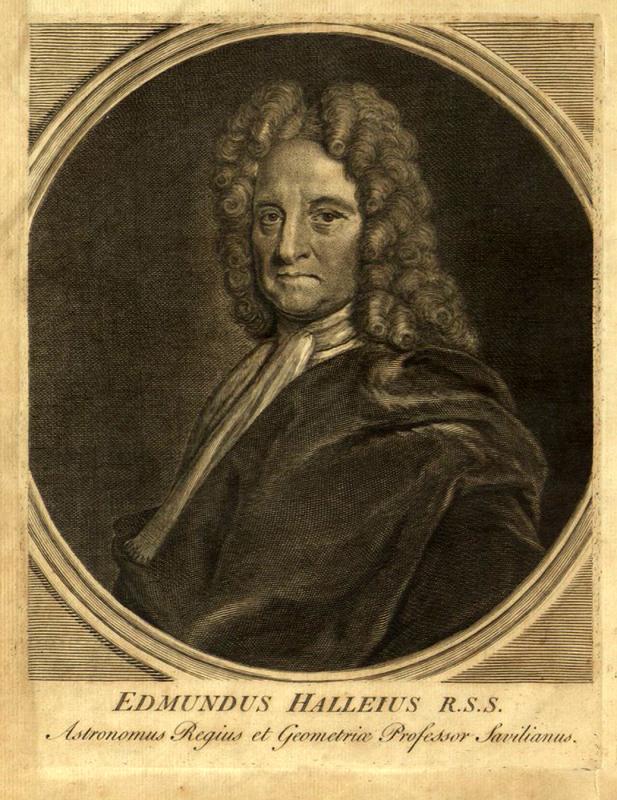 Portrait of Edmund Halley