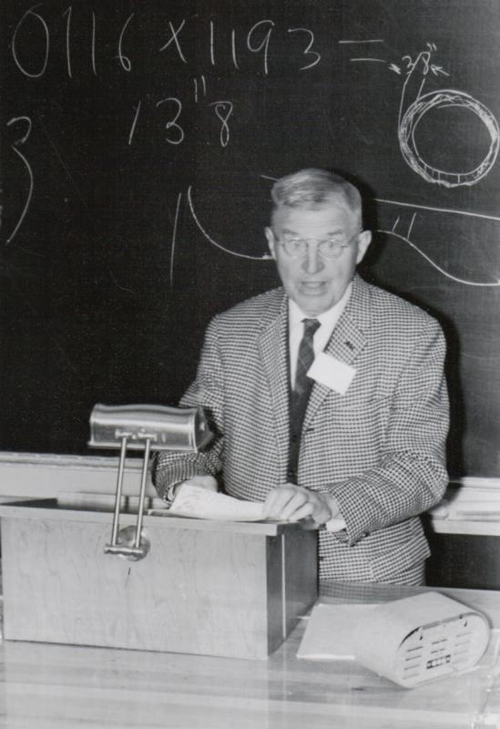 Jesse Ketchum at the 1964 GA