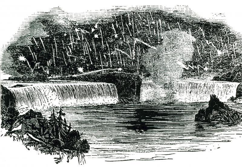 Leonids 1833