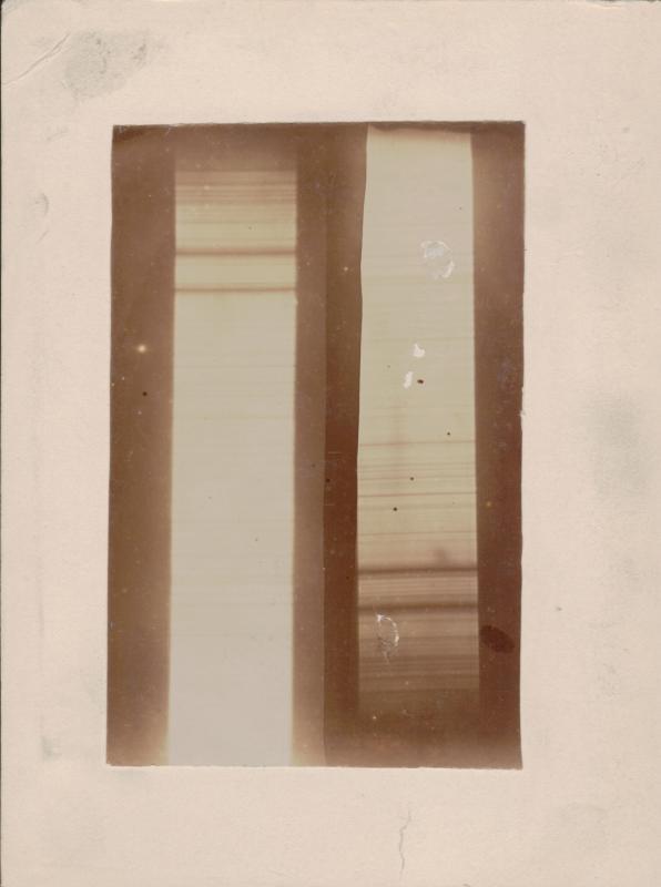 Solar Spectrum from 1893