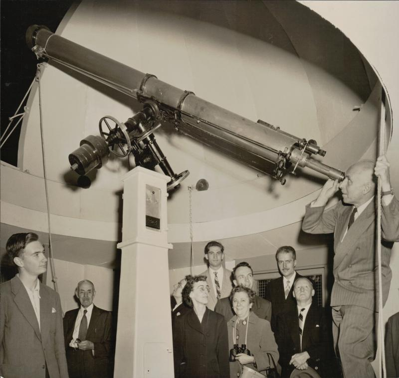 Montreal Centre Observatory, 1958