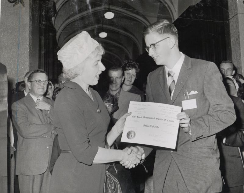 CWSF Award 1963