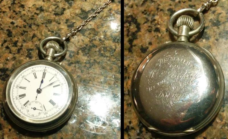 Thomas Lindsay Pocket Watch