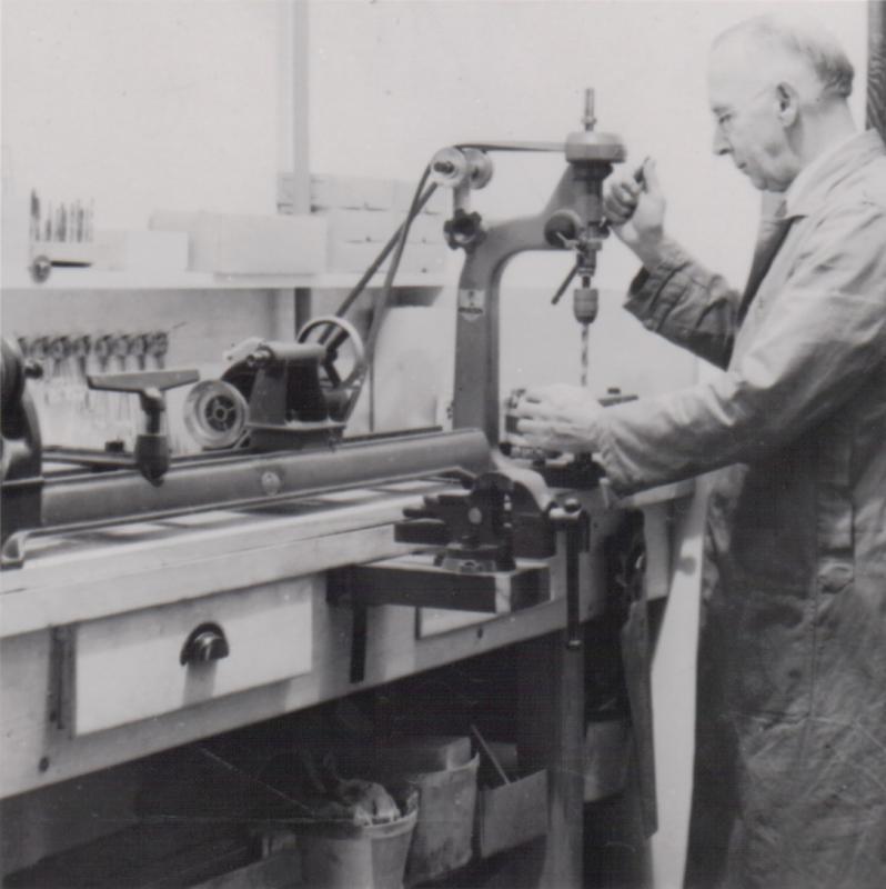 William Colgrove at work