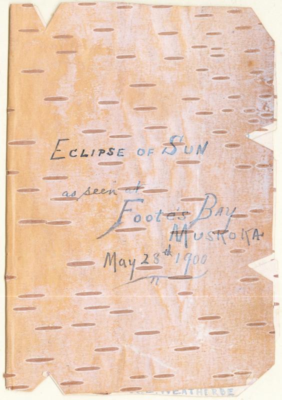 Eclipse 1900 in Birch Bark