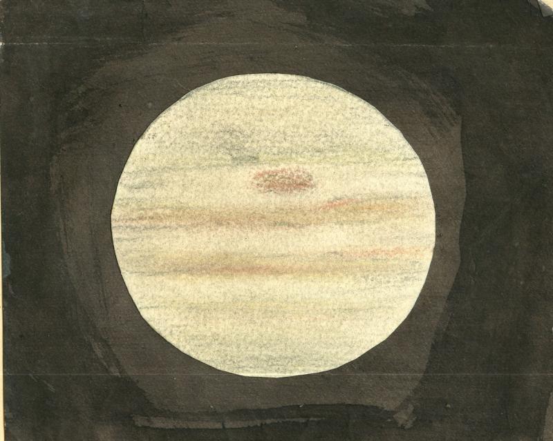 Jupiter in the 1800s (unknown sketcher)