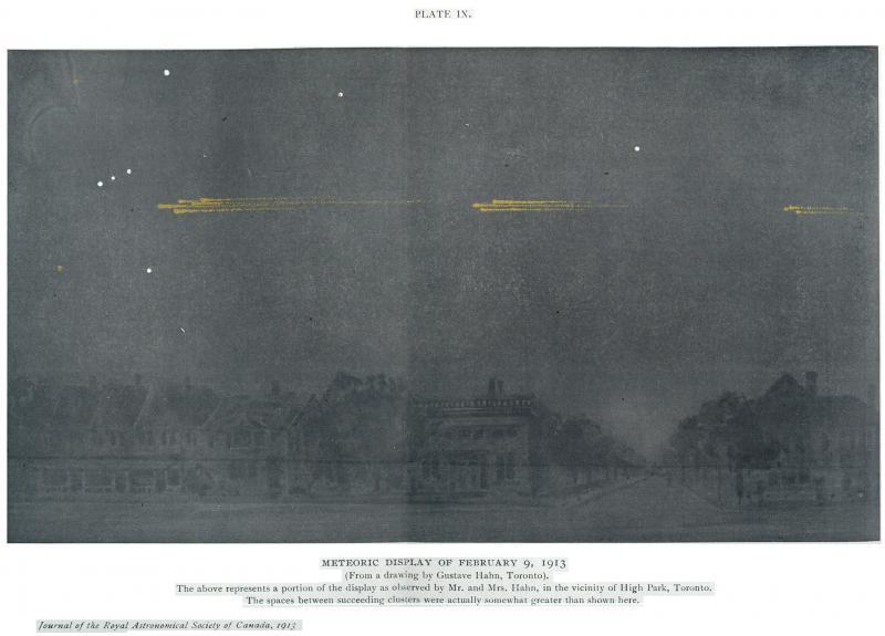 Meteor Procession 1913