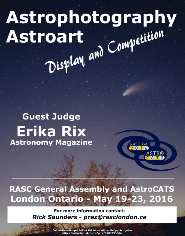 Astroart Display and Competition Poster