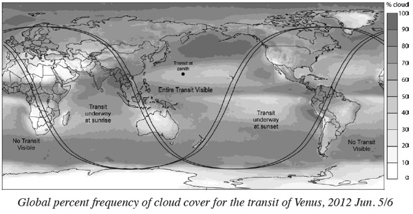 ToV Global Cloud Cover Map